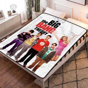 The Big Bang Theory TV Shows Fleece Blanket Quilt