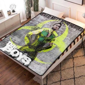 The Boys Deep TV Series Quilt Blanket Fleece Throw