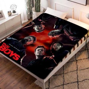 The Boys Cast TV Series Quilt Blanket Throw Fleece