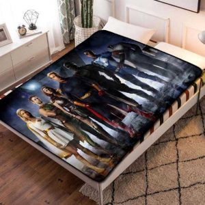 The Boys TV Series Fleece Blanket Throw Bed Set