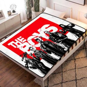 The Boys TV Shows Fleece Blanket Quilt