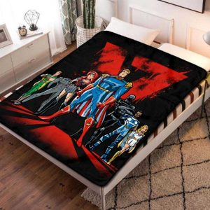 The Boys TV Series Quilt Blanket Fleece Bed Set