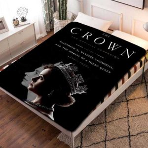The Crown TV Series Fleece Blanket Throw Quilt