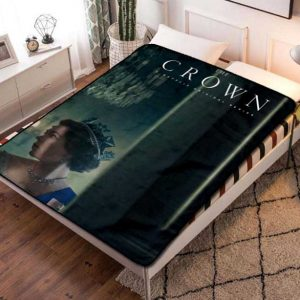 The Crown TV Series Fleece Blanket Throw Bed Set