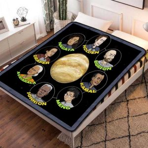 The Expanse Characters TV Series Fleece Blanket Throw Bed Set