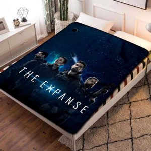 The Expanse TV Shows Fleece Blanket Throw Quilt