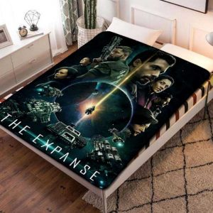 The Expanse Cast TV Shows Fleece Blanket Throw Bed Set