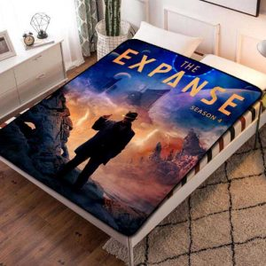 The Expanse Shows Fleece Blanket Throw Bed Set