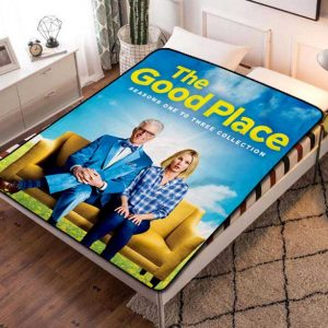 The Good Place TV Shows Fleece Blanket Throw Bed Set
