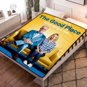 The Good Place TV Shows Fleece Blanket Throw Quilt