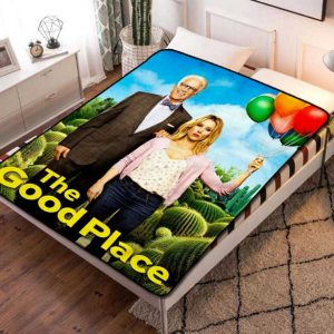 The Good Place TV Shows Fleece Blanket Quilt