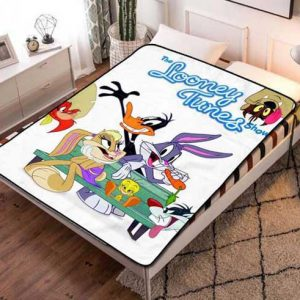 Chillder Looney Tunes Blanket. Looney Tunes Fleece Blanket Throw Bed Set Quilt Bedroom Decoration.