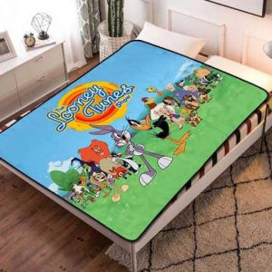 Looney Tunes Show Fleece Blanket Throw Quilt