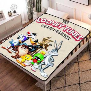 Looney Tunes Golden Collection Fleece Blanket Throw Quilt