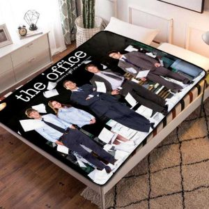 The Office Series Fleece Blanket Quilt
