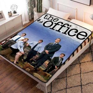 The Office TV Series Fleece Blanket Throw Bed Set