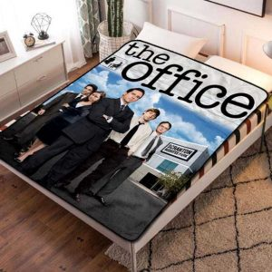 The Office TV Shows Fleece Blanket Throw Bed Set