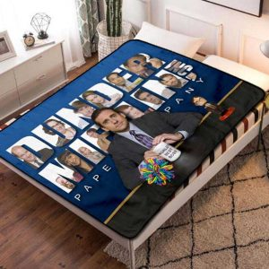 The Office TV Series Fleece Blanket Throw Quilt