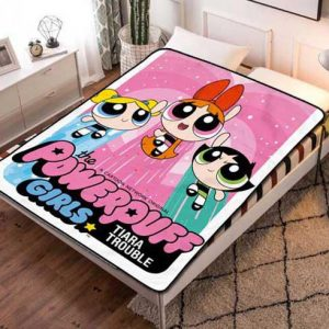 The Powerpuff Girls Poster Fleece Blanket Throw Quilt