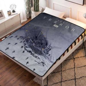 The Terror Series Fleece Blanket Quilt