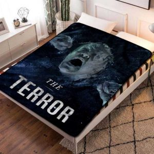 The Terror Fleece Blanket Throw Quilt