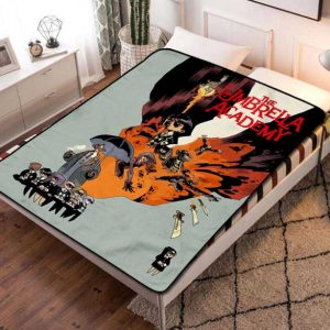 The Umbrella Academy Fleece Blanket Throw Bed Set
