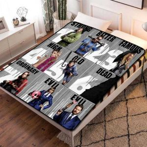 The Umbrella Academy Characters Fleece Blanket Throw Bed Set