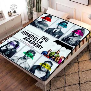 The Umbrella Academy TV Series Fleece Blanket Throw Quilt