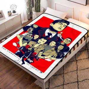 The Umbrella Academy TV Series Fleece Blanket Quilt