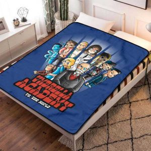 The Umbrella Academy TV Shows Fleece Blanket Throw Bed Set