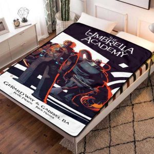 The Umbrella Academy TV Shows Fleece Blanket Throw Quilt
