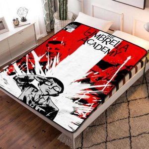 The Umbrella Academy Series Fleece Blanket Throw Quilt