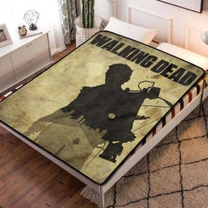 Chillder The Walking Dead Blanket. The Walking Dead Fleece Blanket Throw Bed Set Quilt Bedroom Decoration.