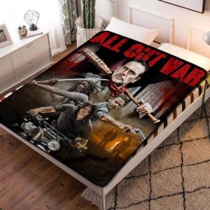 The Walking Dead Series Fleece Blanket Quilt