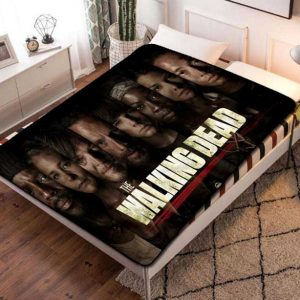 The Walking Dead Shows Fleece Blanket Throw Quilt