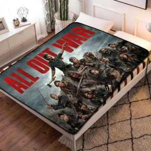 The Walking Dead TV Fleece Blanket Quilt