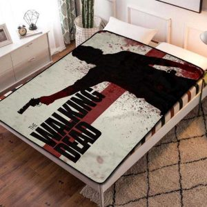 The Walking Dead TV Series Fleece Blanket Quilt