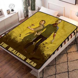 The Walking Dead TV Series Fleece Blanket Throw Quilt