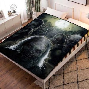 The Walking Dead TV Shows Fleece Blanket Throw Bed Set