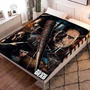 The Walking Dead Fleece Blanket Throw Quilt