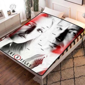 The X-Files Shows Fleece Blanket Throw Bed Set