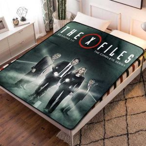 The X-Files Shows Fleece Blanket Throw Quilt