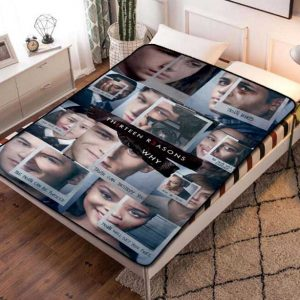 13 Reasons Why TV Shows Fleece Blanket Throw Quilt