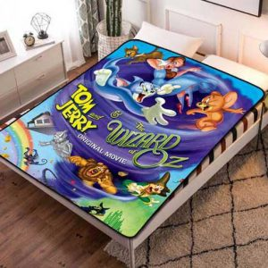 Tom and Jerry Blanket
