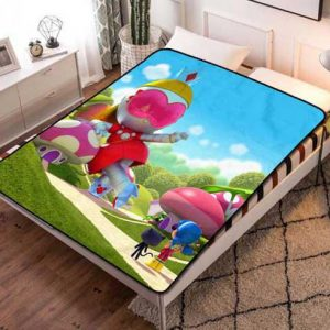 Chillder True and the Rainbow Kingdom Blanket. True and the Rainbow Kingdom Fleece Blanket Throw Bed Set Quilt Bedroom Decoration.
