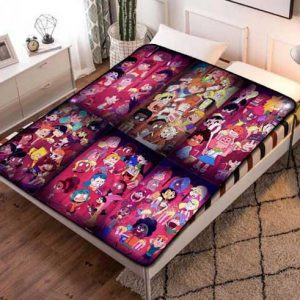 Victor and Valentino Characters Fleece Blanket Throw Bed Set