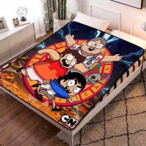 Victor and Valentino Characters Fleece Blanket Quilt