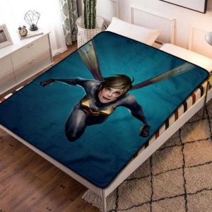 The Wasp Comic Fleece Blanket Throw Quilt