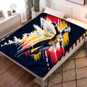 The Wasp Marvel Fleece Blanket Throw Quilt
