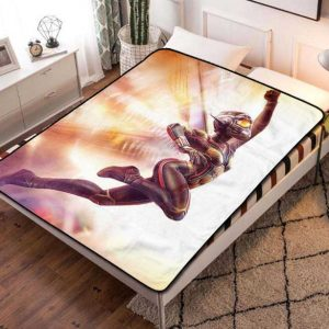 The Wasp Marvel Fleece Blanket Throw Bed Set